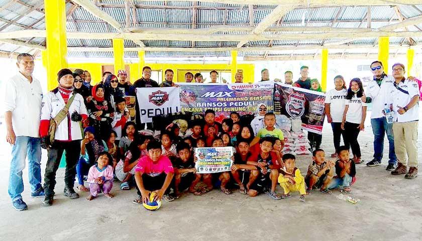 Max Series Palembang Bersatu, BMC-Memo dan Max GT Peduli Sinabung