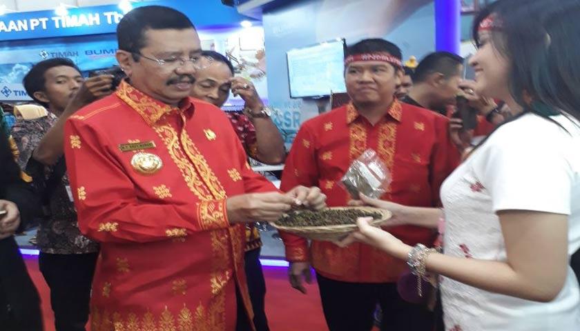 Produk Olahan Tanaman Khas Danau Toba Laku Keras di Inacraft 2018