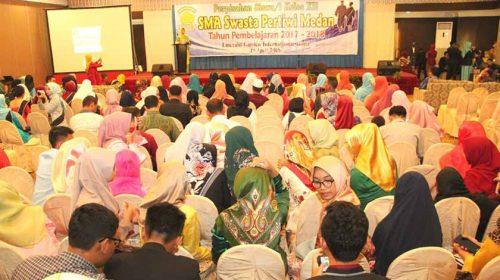 Rita Maharani Dukung SMA Pertiwi Medan Terus Bergiat