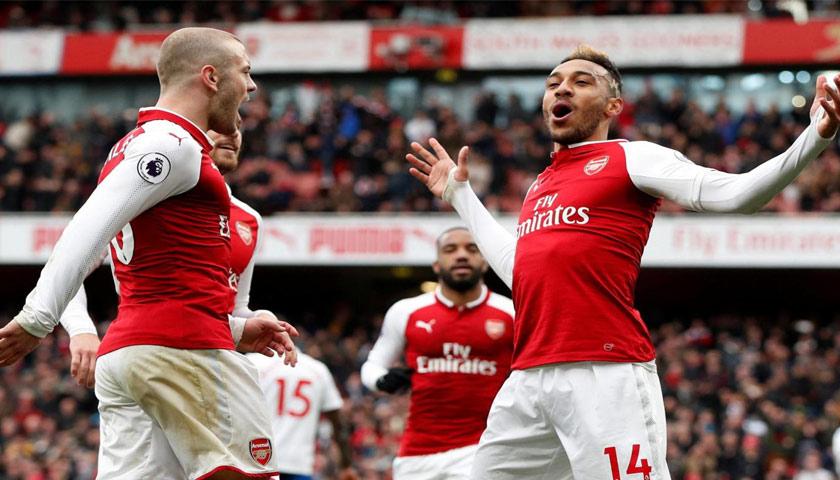Liga Inggris, Arsenal Tekuk Stoke City 3-0