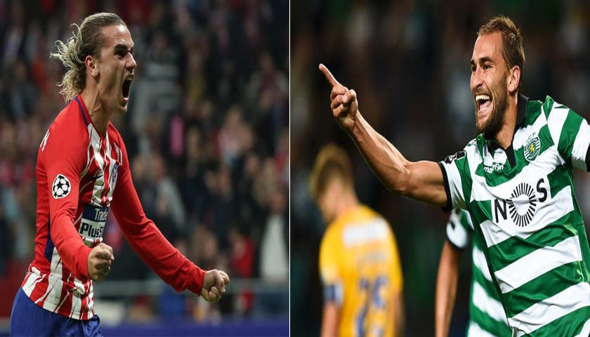 Prediksi Atletico Madrid vs Sporting Lisbon 6 April 2018