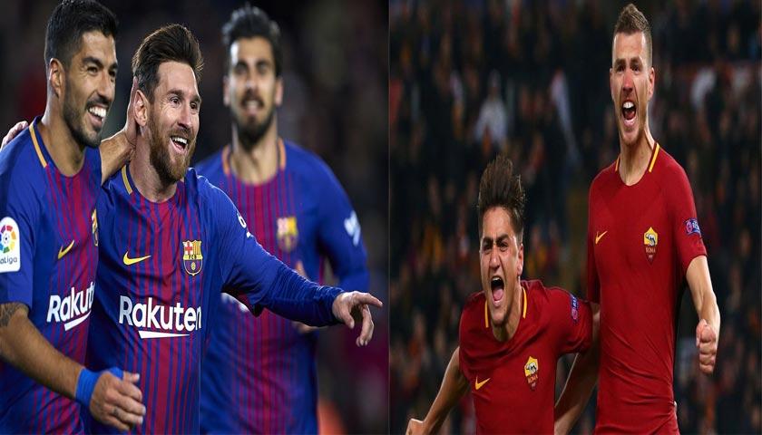Prediksi Liga Champions Barcelona vs AS Roma 5 April 2018