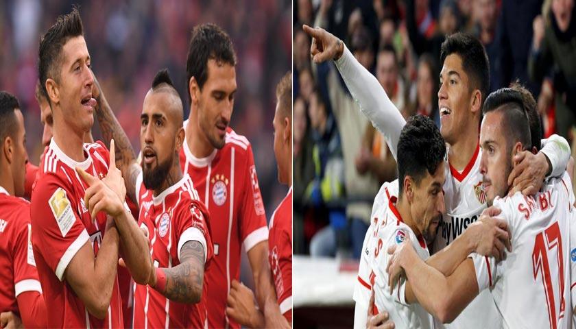 Liga Champions Bayern Munchen vs Sevilla 12 April 2018