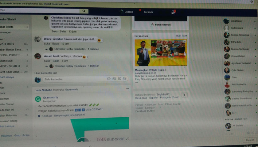 Facebook Diblokir, UKM Bakal 'Meradang'
