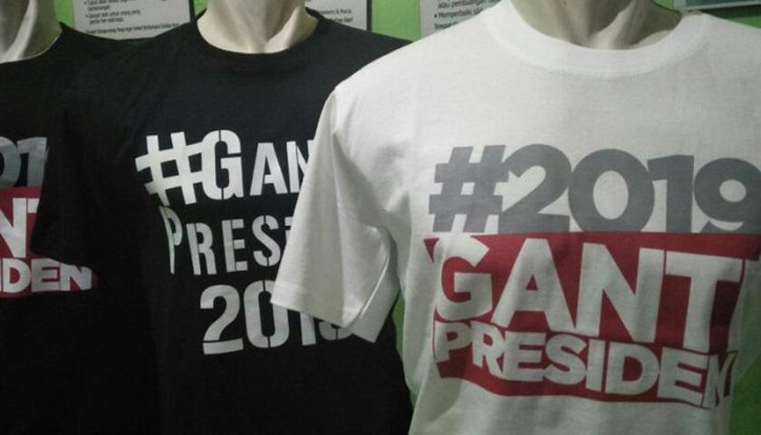 Bawaslu: Gerakan #2019GantiPresiden Bukan Kampanye. PDIP: Itu Manuver Politik