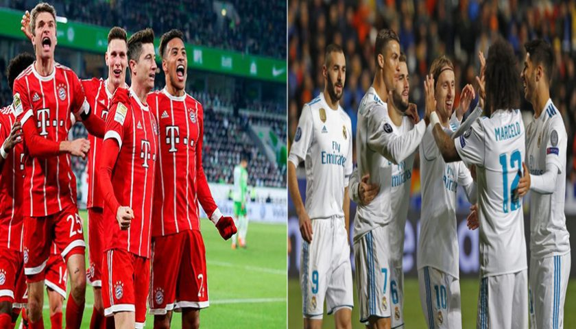 Liga Champions Bayern Munchen vs Real Madrid 26 April 2018