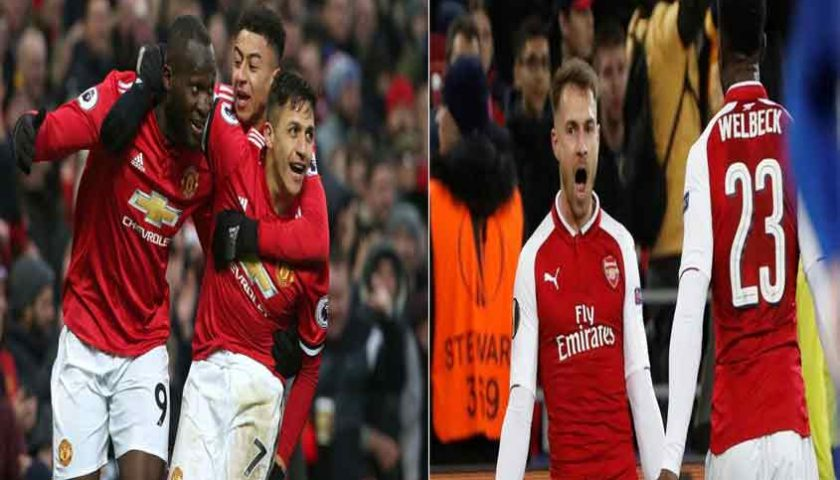 Liga Inggris Manchester United vs Arsenal 29 April 2018
