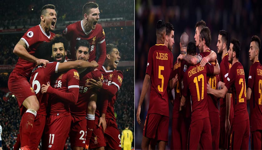 Liga Champions Liverpool vs AS Roma 25 April 2018