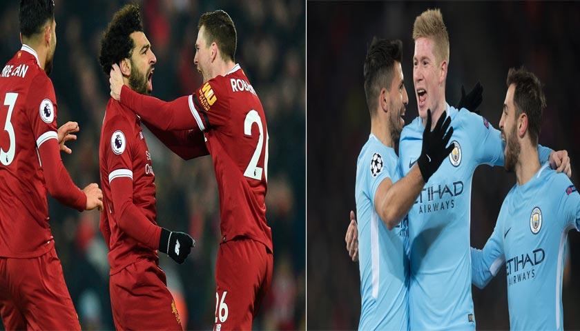 Prediksi Liga Champions Liverpool vs Manchester City 5 April 2018