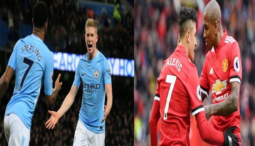 Prediksi Liga Inggris Manchester City vs Manchester United 8 April 2018