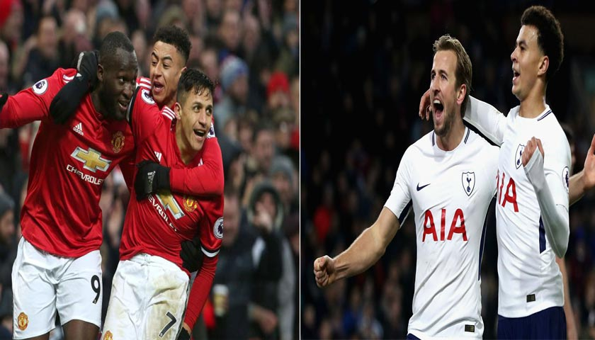 Semifinal Piala FA Manchester United vs Tottenham Hotspur 21 April 2018