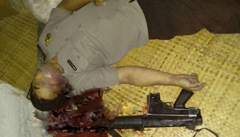 Dooorr..!!! Polisi Tewas, Tembak Kepala Sendiri