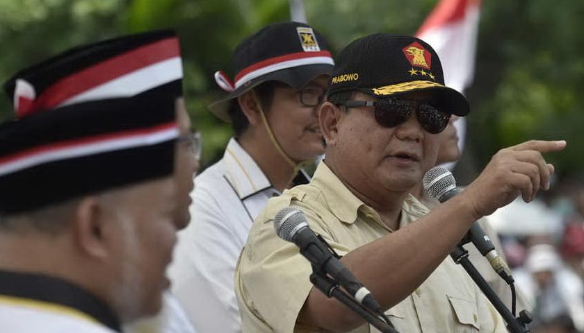 Prabowo Deklarasi, Pengamat: Tetap Kalah Lawan Jokowi