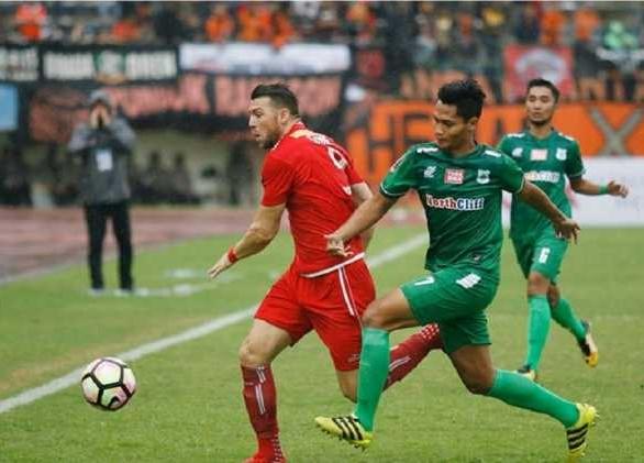 Liga 1 Indonesia, PSMS Medan Unggul Sementara Atas Persija 2-1