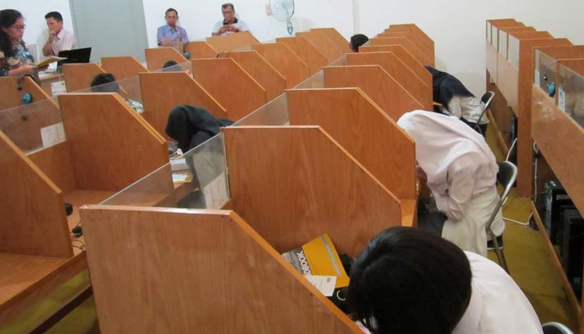 Test TOEFL ITP Perdana Nommensen di Sibolga Sukses