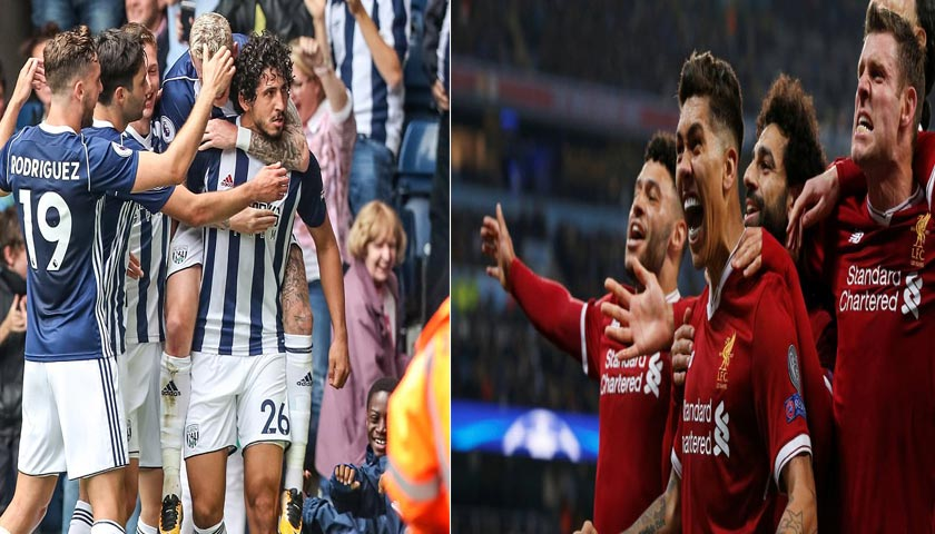 West Bromwich Albion Vs Liverpool 21 April 2018