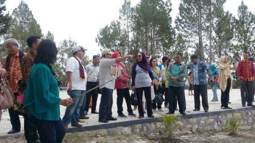 Empat Kementerian RI Kunjungi Lokasi GKT, Wagub Yakinkan Kesiapan Danau Toba Diakui UNESCO