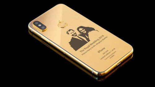Dibalut Emas 24K, iPhone X Edisi Royal Wedding Hanya Tersedia 99 Unit
