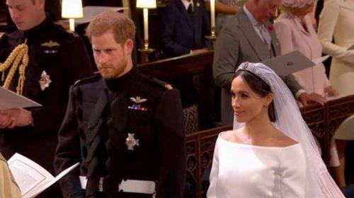 Pangeran Harry dan Meghan Markle Resmi Jadi Pasangan Suami Istri