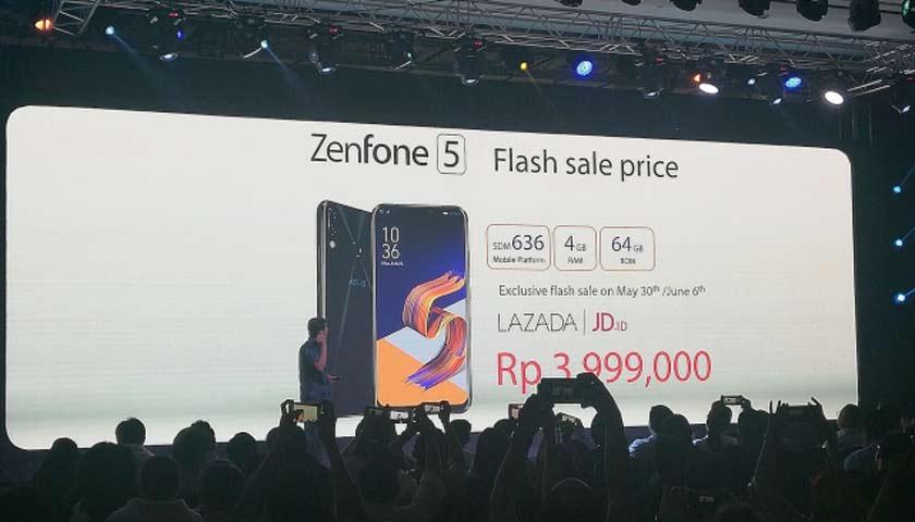 Asus Bawa ZenFone 5 dan 5Z, Ini Harganya