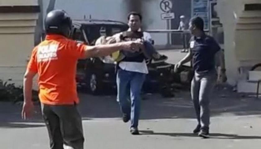 Bocah Perempuan Korban Bom Polrestabes Surabaya