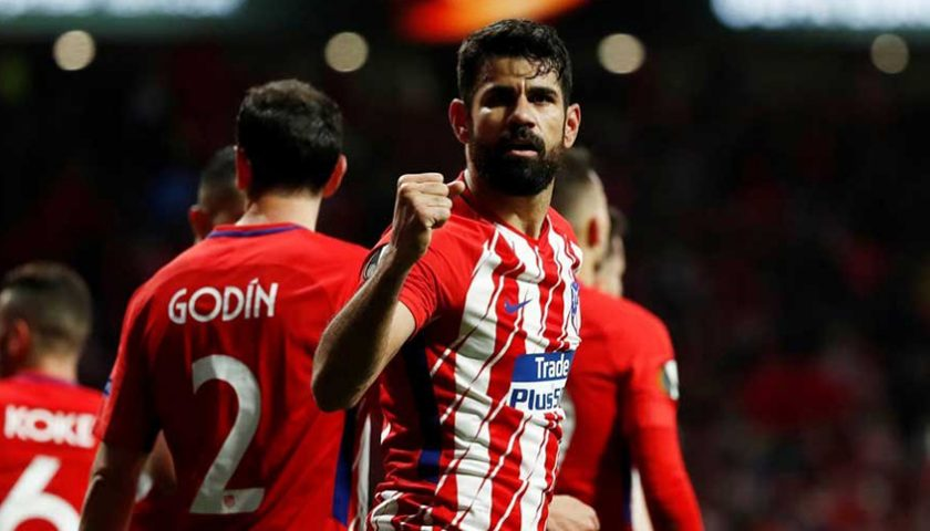 Diego Costa Buyarkan Impian Arsene Wenger