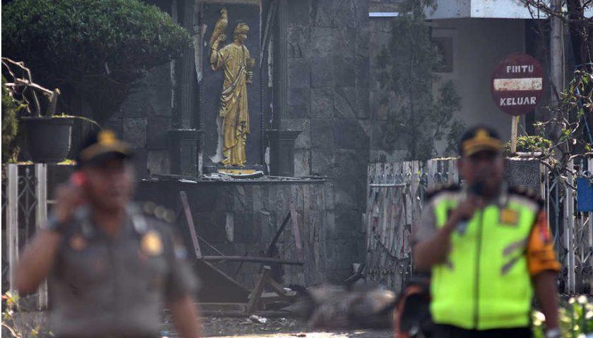 Korban Tewas Jadi 17 Orang, Saksi Kunci Bom Gereja Kritis