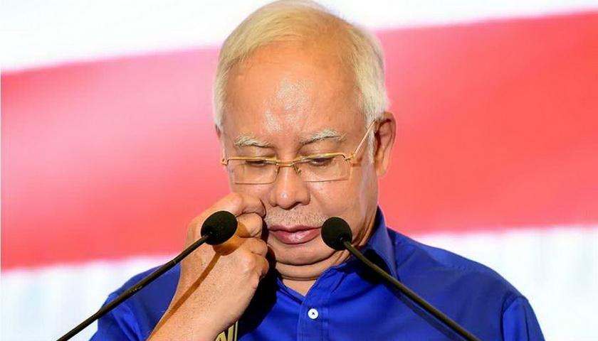 Dicekal dan Batal ke Indonesia, Najib Mundur dari Umno dan BN