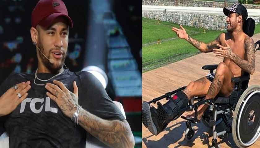 Neymar Mengaku Masih Trauma ke Lapangan
