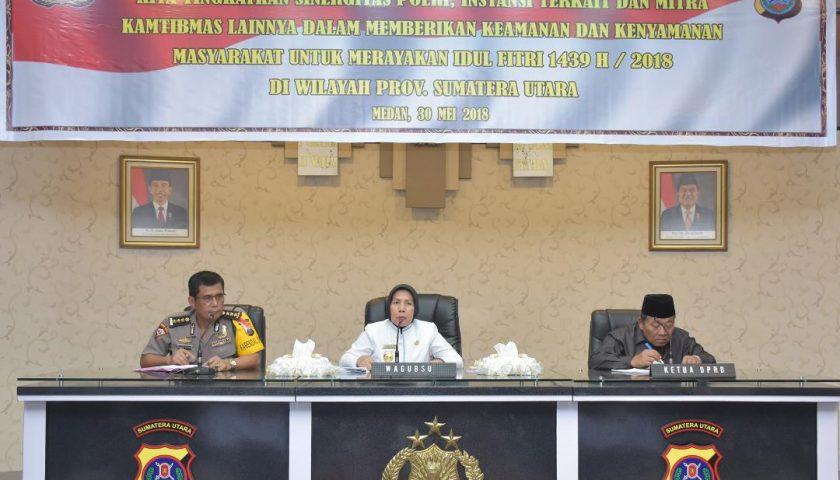 Amankan Lebaran, Organisasi Perangkat Daerah dan Stakeholder Harus Berkoordinasi