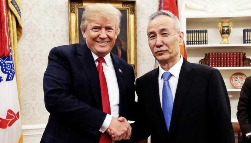 AS-China Sepakat Hentikan Perang Dagang