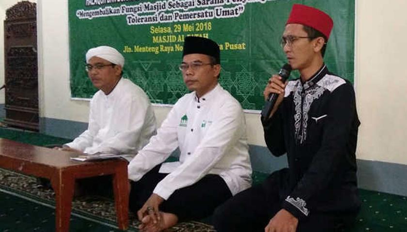 Kalangan Ulama Minta Politisasi Masjid Dihentikan