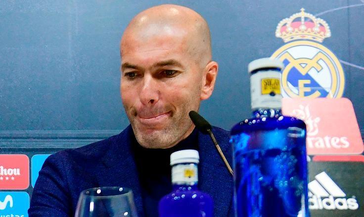 Zinedine Zidane Resmi Mundur Dari Real Madrid