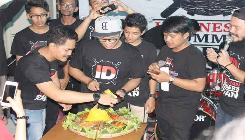 komunitas Indonesian Drummers Medan (ID-Medan) merayakan Anniversary I