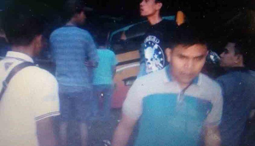 Bus TK Gloria Padangbulan Medan Masuk Jurang di Perbatasan Karo