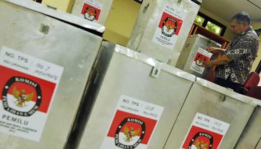 KPU Asahan Bakal Gunakan Kotak Suara Bekas di Pilgubsu 2018