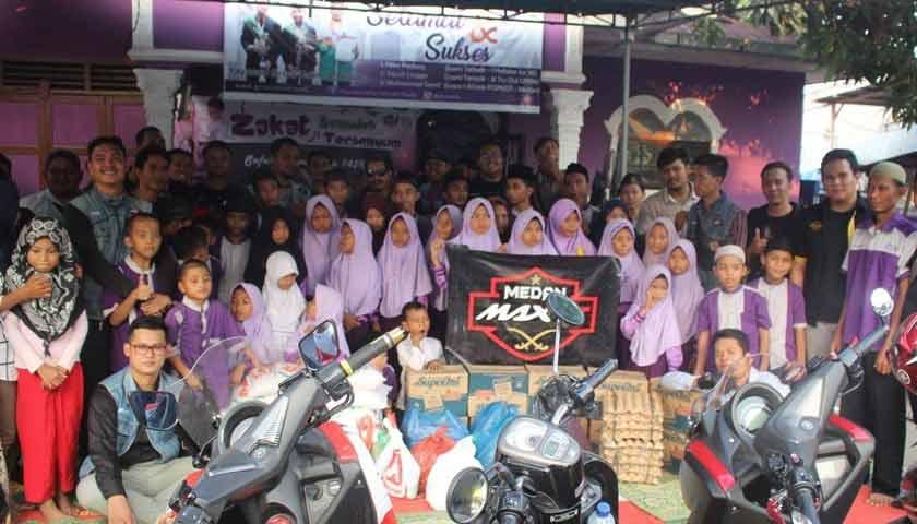 Medan Max GT Mengadakan serangkaian kegiatan di bulan Ramadhan