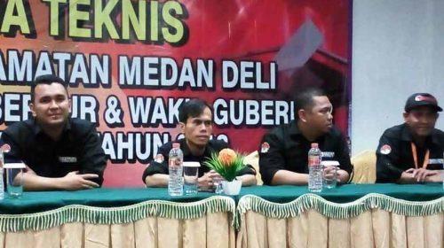 Panwaslih Medan Deli Gelar Rakernis Bersama PTPS