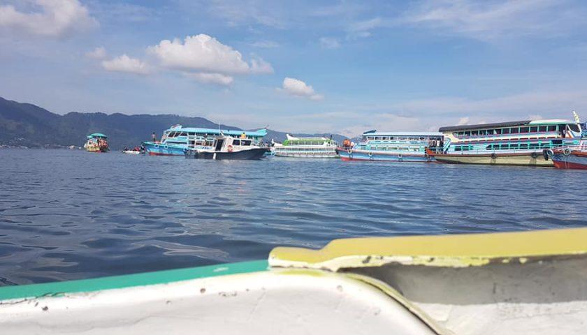 Dimulai, Ramp Check Kelaiklautan Kapal di Danau Toba
