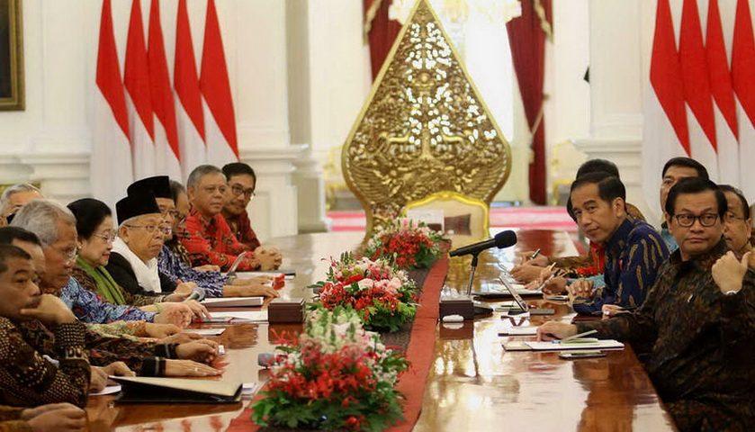 Jokowi Bertemu Megawati Bahas Cawapres