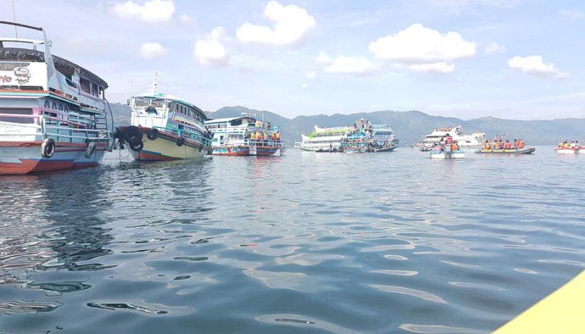 Ini Fotonya..!!! Bangkai KM Sinar Bangun Ditemukan Utuh di Dasar Danau Toba