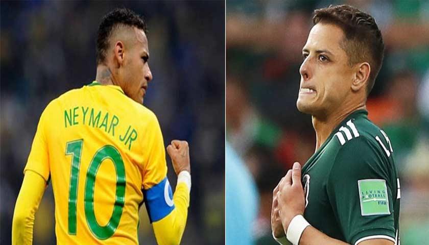 Prediksi Piala Dunia Brasil vs Meksiko 2 Juli 2018