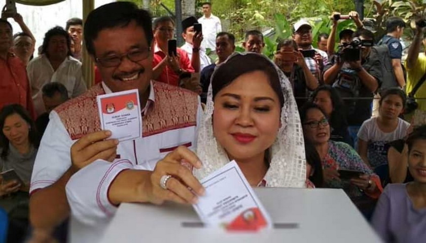 Pemilih Tambahan, Djarot dan Sihar Menunggu Pukul 12.00 WIB