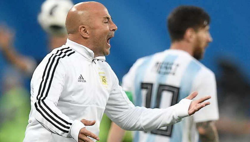 Sampaoli Yakin Argentina Bisa Atasi Prancis