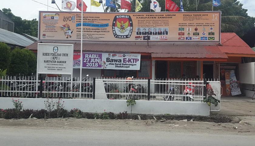Polres Samosir Periksa Komisioner KPU Samosir