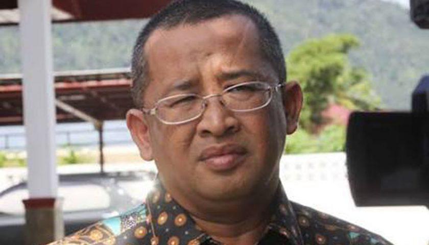 Mantan Bupati Tapteng Sukran Jamilan Tanjung Resmi Ditahan