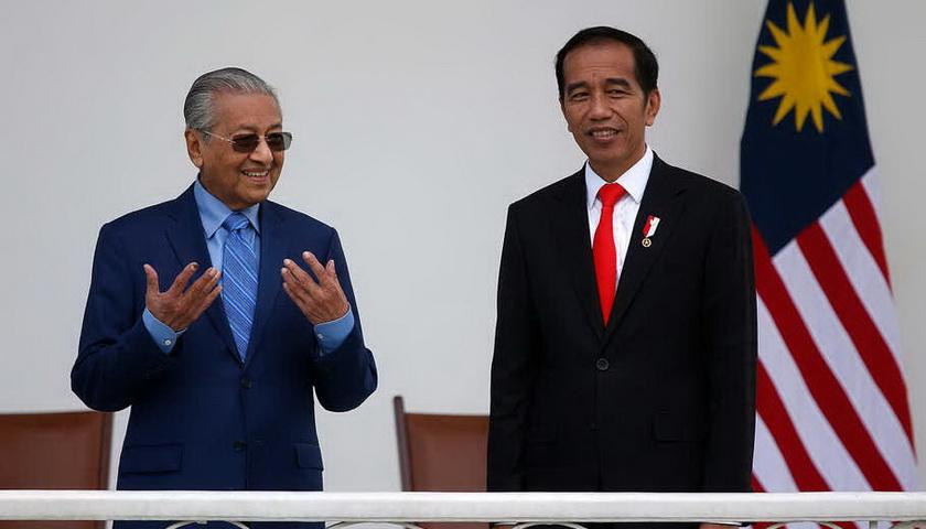 Jokowi-Mahathir Bahas Masalah Korupsi Hingga Perbatasan