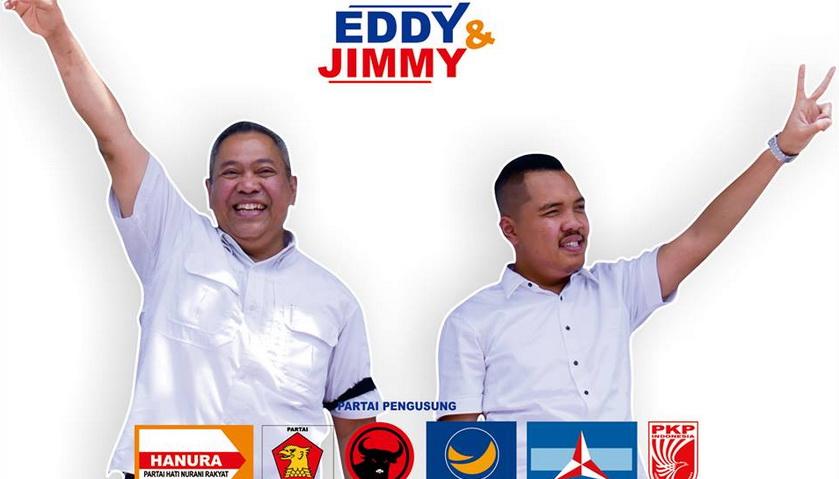 Timses Eddy-Jimmy Klaim Kemenangan di Pilkada Dairi