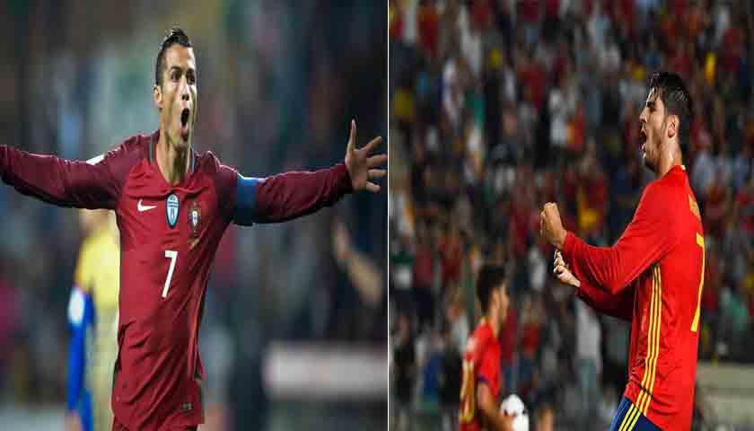 Prediksi Piala Dunia Portugal vs Spanyol 16 Juni 2018