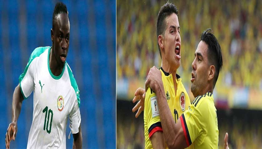 Prediksi Piala Dunia Senegal vs Kolombia 28 Juni 2018